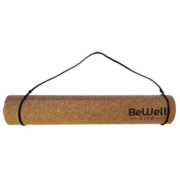Cork Yoga-Mat with carrying straps