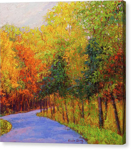 Autumn Path-canvas print