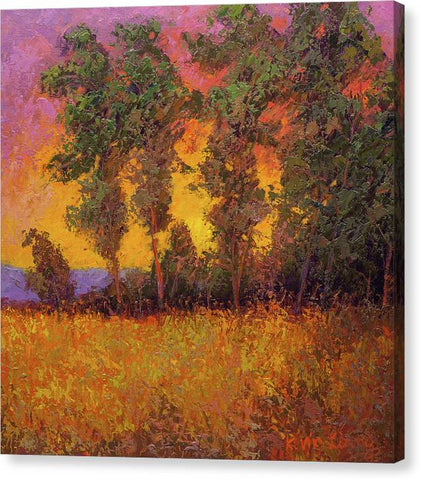 Autumn Sunset-canvas print
