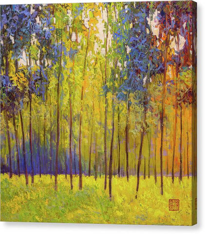 Early spring-canvas print