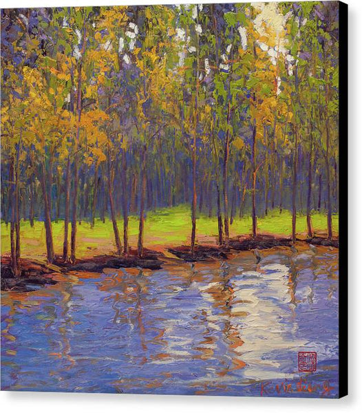 Spring Reflection - Canvas Print