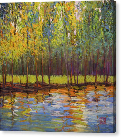 Spring Reflection- canvas print
