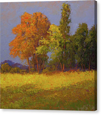 Autumn Last Ray-canvas print
