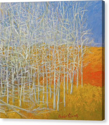Orange Hills - canvas print