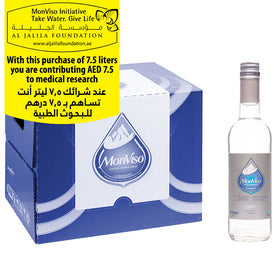 MonViso Natural Mineral Water Glass Bottle Still 0.375ml