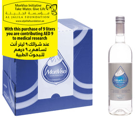 MonViso Natural Mineral Water Glass Bottle Still 0.750ml