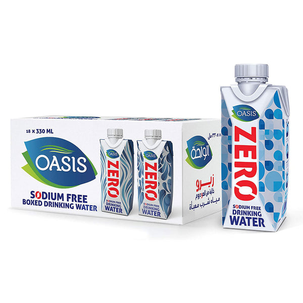 Oasis Boxed Water ZERO 330ml x 18