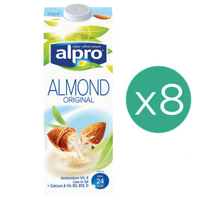 Alpro Almond Original 1L x 8