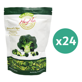Hey Hah Broccoli Chips 20gms x 24