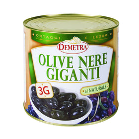 Demetra Giant Black Olives 2.5Kg