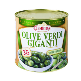 Demetra Giant Green Olives 2.5Kg
