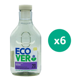 Ecover laundry liquid Colour 1Ltr x 6