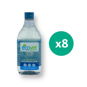 Ecover Washing Liquid Chamomile 450Ml x 8