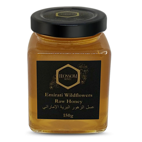 Blossom UAE Wildflowers Raw Honey 150gm