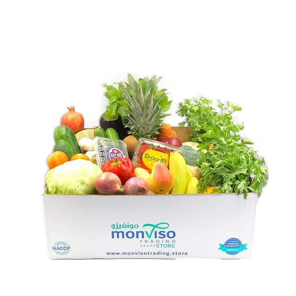 Fruits and Vegetables Box 15kg Diamond