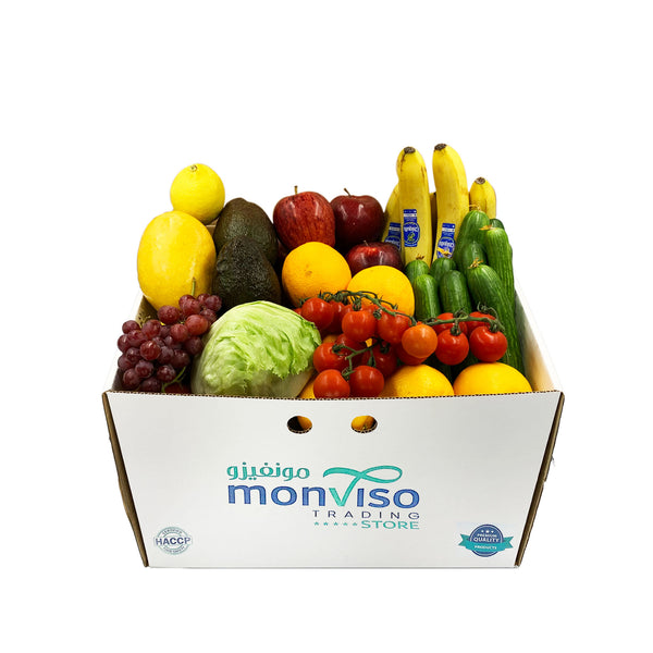 Fruits and Vegetables Box 5-6kg Turquoise
