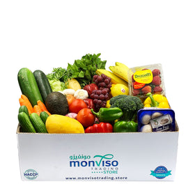Fruits and Vegetables Box 11-12kg Aquamarine