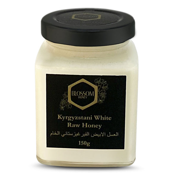 Blossom Kyrgyzstani White Raw Honey 150gm