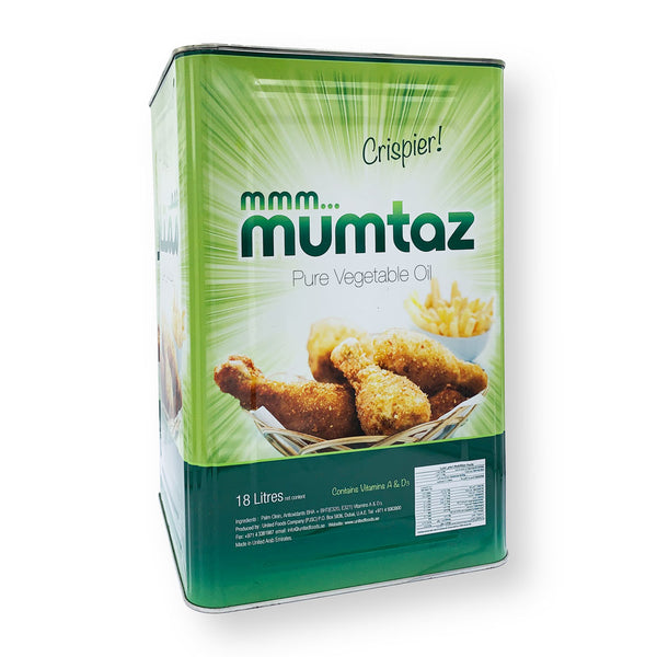 Mumtaz Pure Vegetable Oil 18 Ltrs