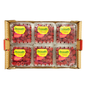 Raspberries 170Gm x 12