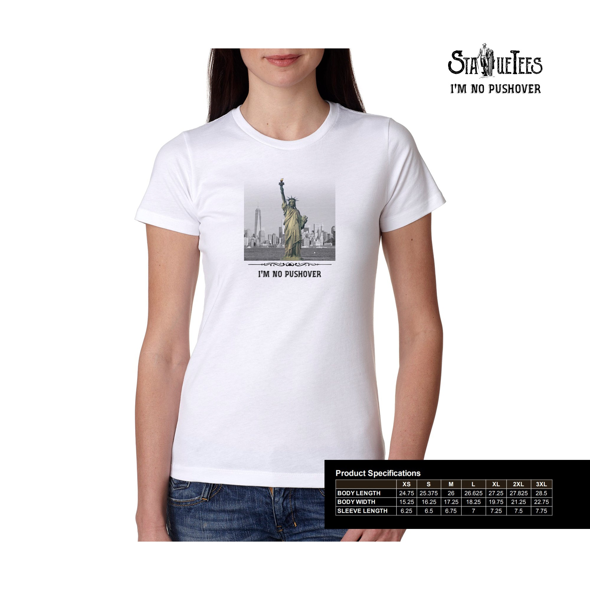 Statue of Liberty Boyfriend T Shirt