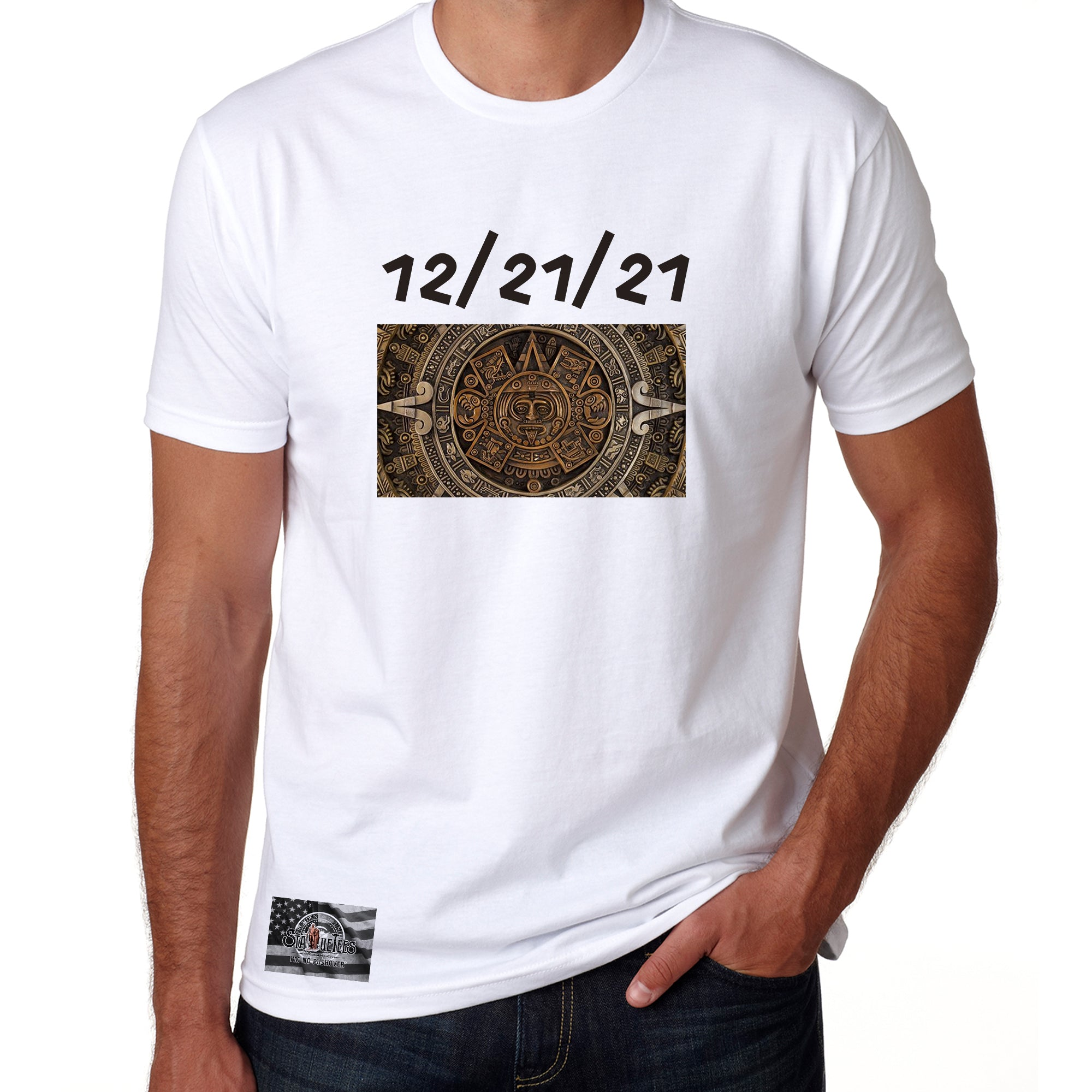 Mayan 122121 Cotton T Shirt Vintage