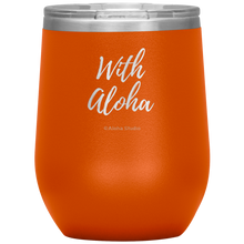 Load image into Gallery viewer, Wine Tumbler with Aloha