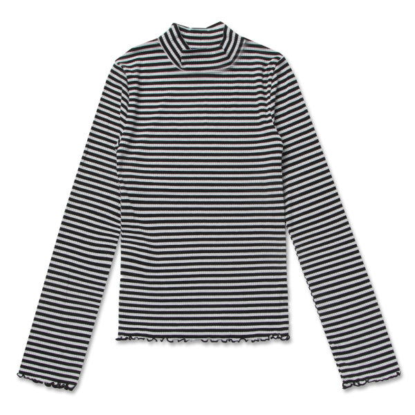 SPAO Woman Long Sleeve Ribbed Stripe Tee SPLS911G02