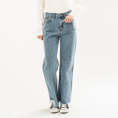 SPAO Woman Wide Denim Pants SPTJ923G51