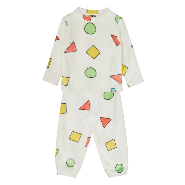 SPAO Kids Long Sleeve Shinchan Pyjamas SPPP94TU02 White