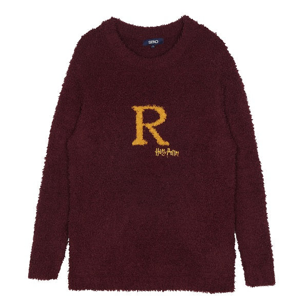 SPAO Unisex Long Sleeve Harry Potter Pyjamas SPPP94VC03 Burgandy