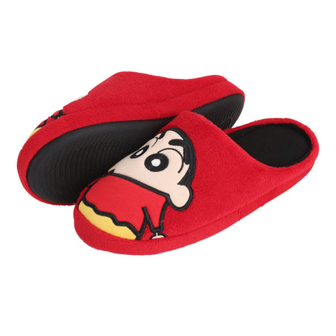 SPAO Unisex Shinchan Room Shoes SPPJ94TA00 Red