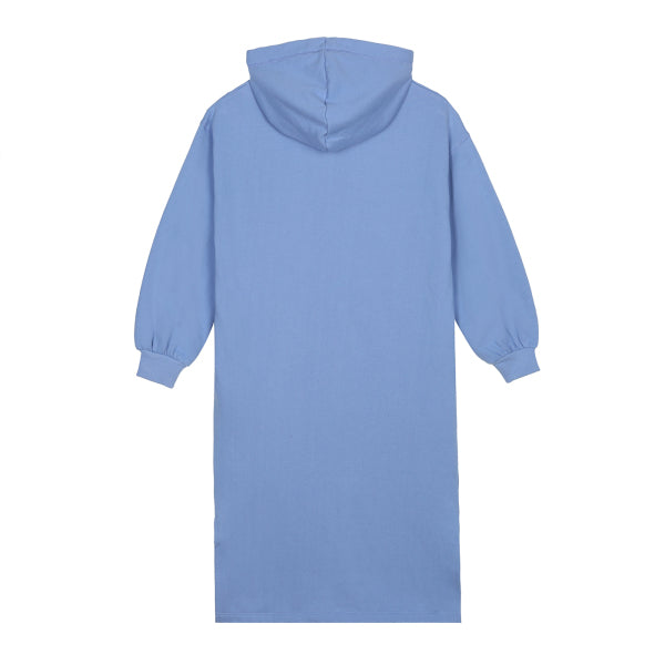 SPAO Woman Long Sleeve Alice Hooded Dress SPMBA12G02 Light Blue
