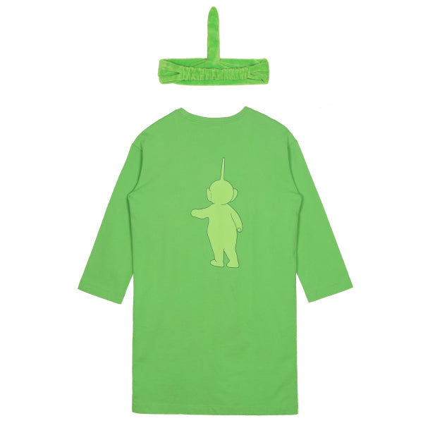 SPAO Woman Short Sleeve Teletubbies Tee Dress SPPPA23G02 Green