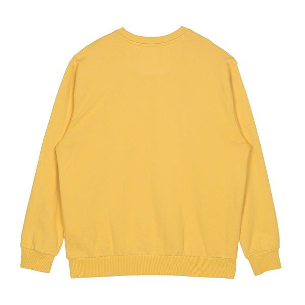 SPAO Unisex Long Sleeve Teletubbies Pullover SPMBA23C08 Light Yellow