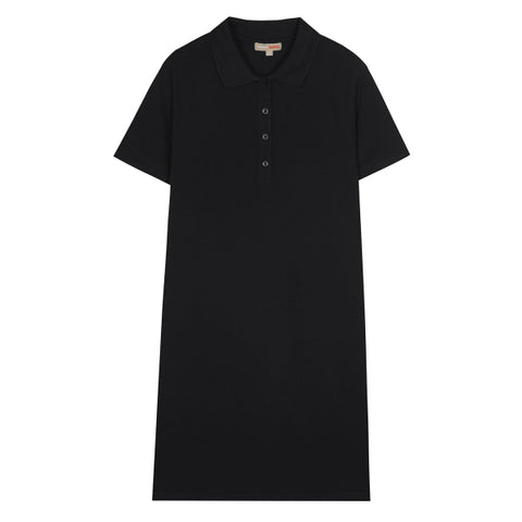 SPAO Women Short Sleeve Basic Polo Dress SPOMA24G17