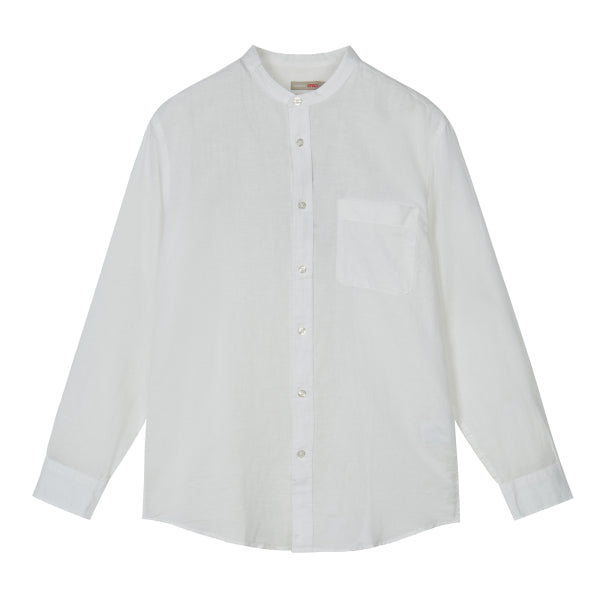 SPAO Man Long Sleeve Linen Shirt SPYWA25C33