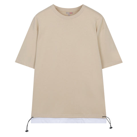 SPAO Men Short Sleeve String Stopper Tee SPRPA25C27