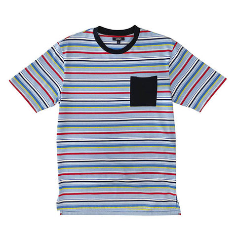 SPAO Man Short Sleeve Stripe Pocket Tee SPLCA11C01