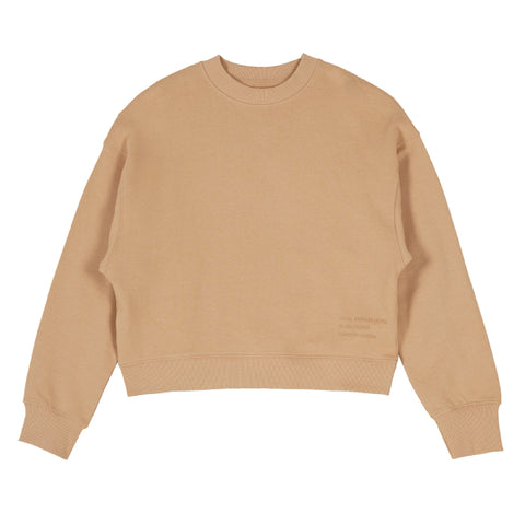 SPAO Woman Long Sleeve Crop Pullover SPMW938G03