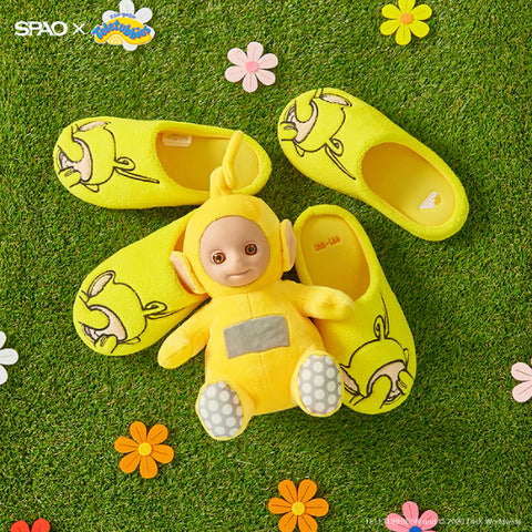 SPAO Unisex Teletubbies Room Shoes SPPJA23A11 Yellow