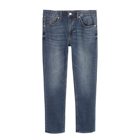 SPAO Man Slim Tapered Denim Pants SPTJA23C13