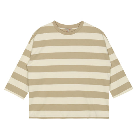 SPAO Woman Long Sleeve Big Stripe Tee SPLSA23G14