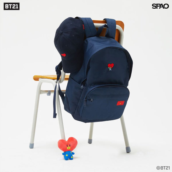 SPAO Unisex BT21 Backpack SPAKA22A71 Navy