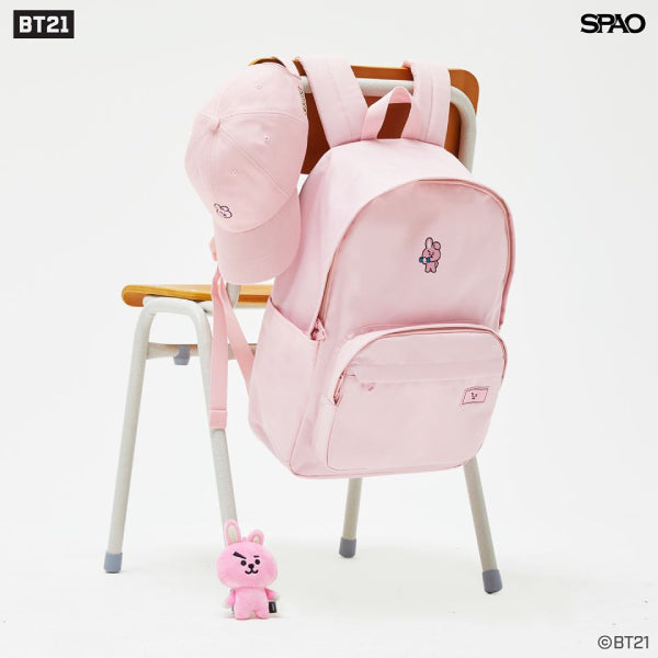 SPAO Unisex BT21 Backpack SPAKA22A71 Pink