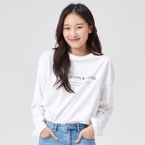 SPAO Woman Long Sleeve Box Fit Tee SPLW938G07