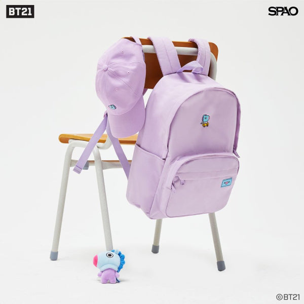 SPAO Unisex BT21 Backpack SPAKA22A71 Purple