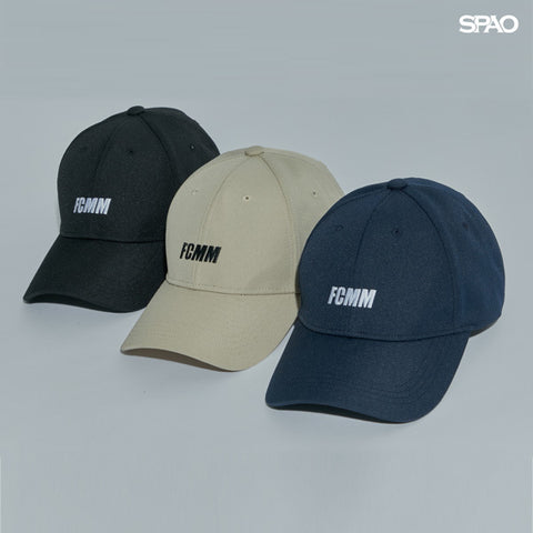 SPAO Unisex FCMM Cordura Ball Cap SPACA48A01 Black
