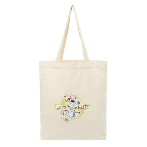 SPAO Unisex Frozen Olaf Eco Tote Bag SPAK94CA40 Ivory