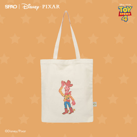 SPAO Unisex Toy Story Tote Bag SPAKA22A52 Yellow